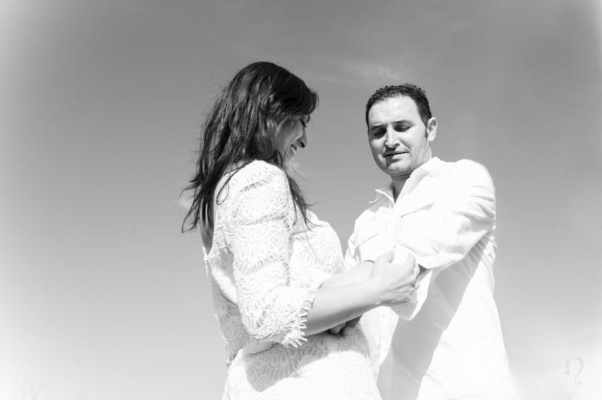 Noemie Artycam fotografia fotografos boda leon preboda campo blanco negro