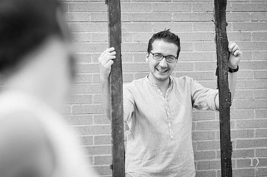 Noemie Artycam fotografia fotografos preboda León novio sonrisa marco