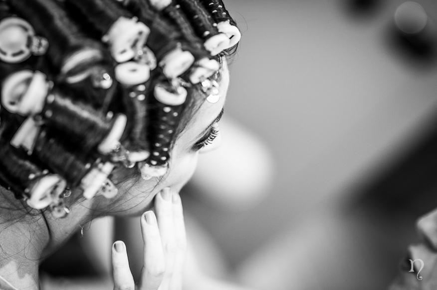 Noemie Artycam fotografia boda León maquillaje peluqueria novia negro
