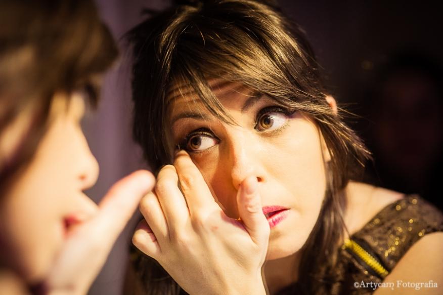 Fotografía artistica maquillaje belleza