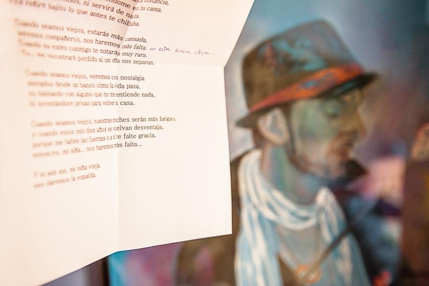 carta poema García Marquez novio amor texto boda artycam fotografía Santander León